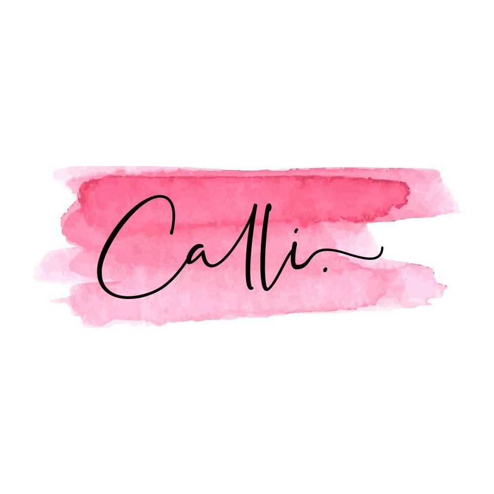 Calli. A women's clothing store needs a clean, feminine, visually catchy logo.