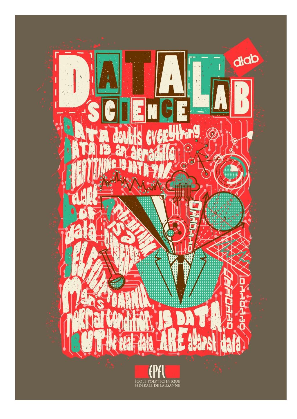 EPFL Data Science Lab (dlab) needs a dada T shirt