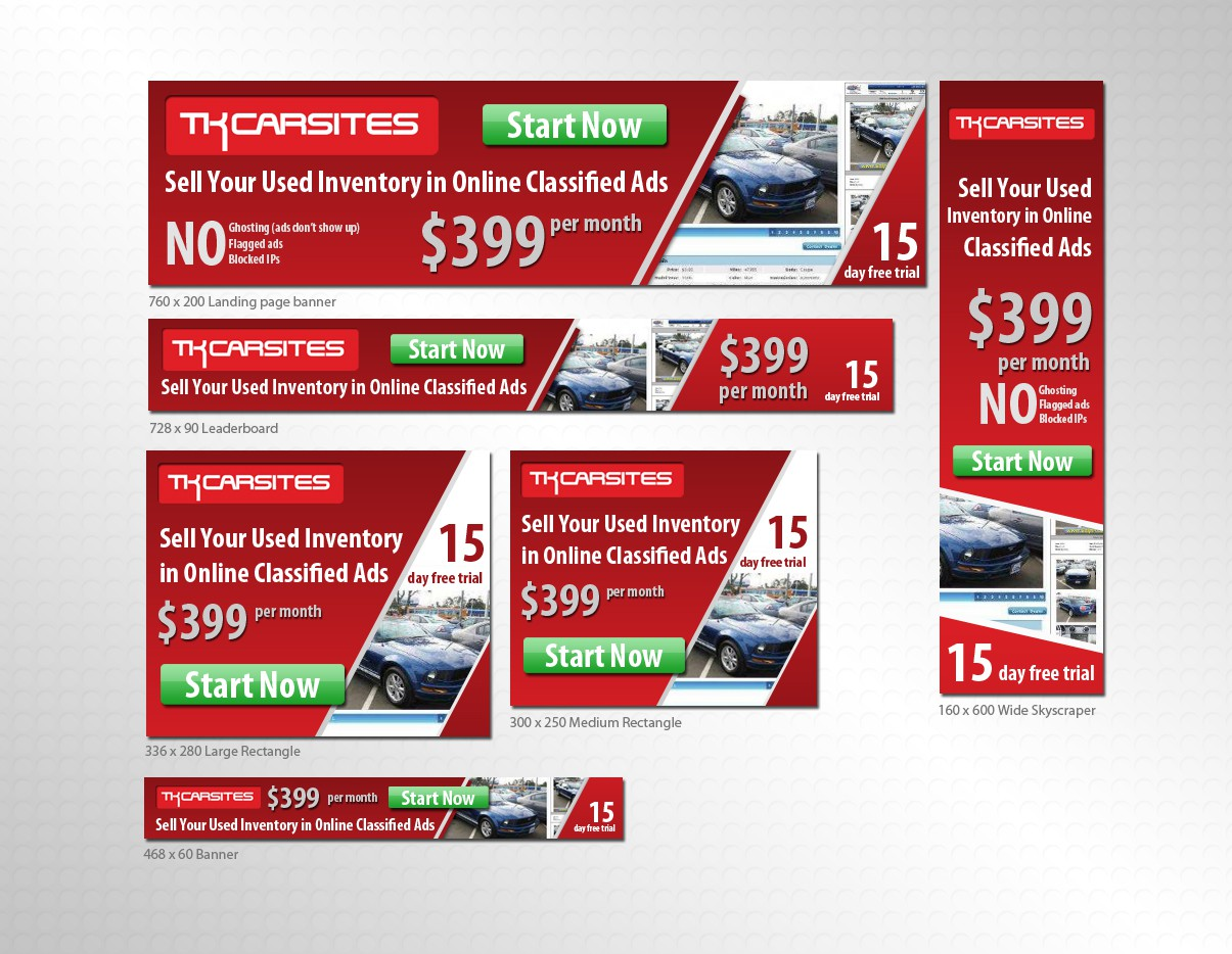 New banner ad for Automotive Classified Ads