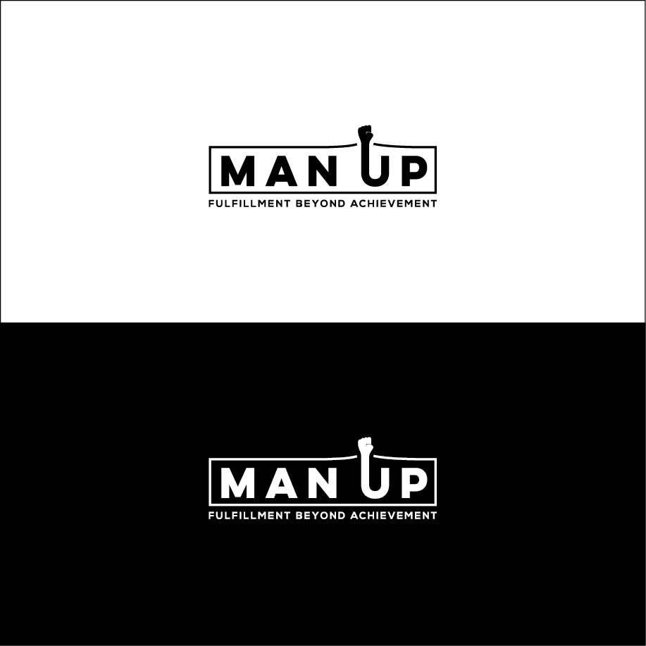 Man Up! needs a logo & bc to Move Men Beyond Achievement to Fulfillment