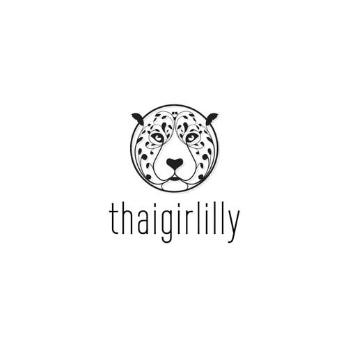 Leopard logo concept