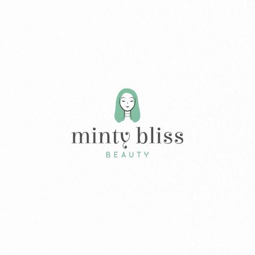 Minty Bliss Beauty | logo concept