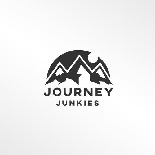 Logo design concept for Journey Junkies