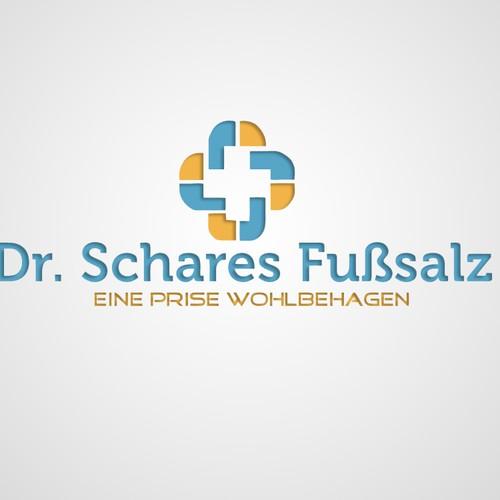logo for Dr. Schares Fußsalz