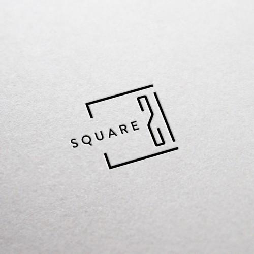 A logo concept for a property building company
