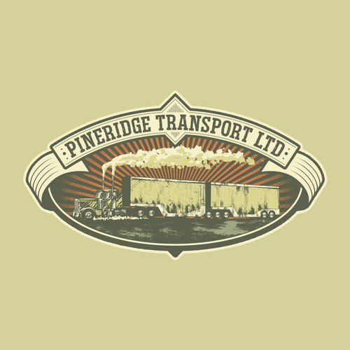 Transport company tee design
