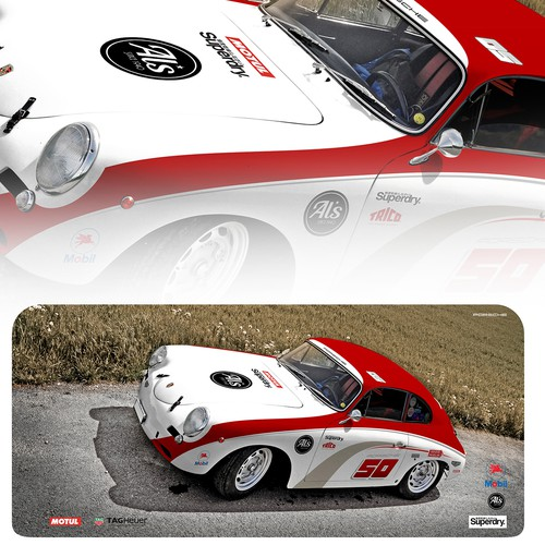 1960' Porsche 356! WRAAAPPP