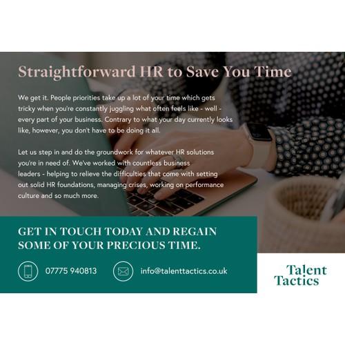 Talent Tactics Ad