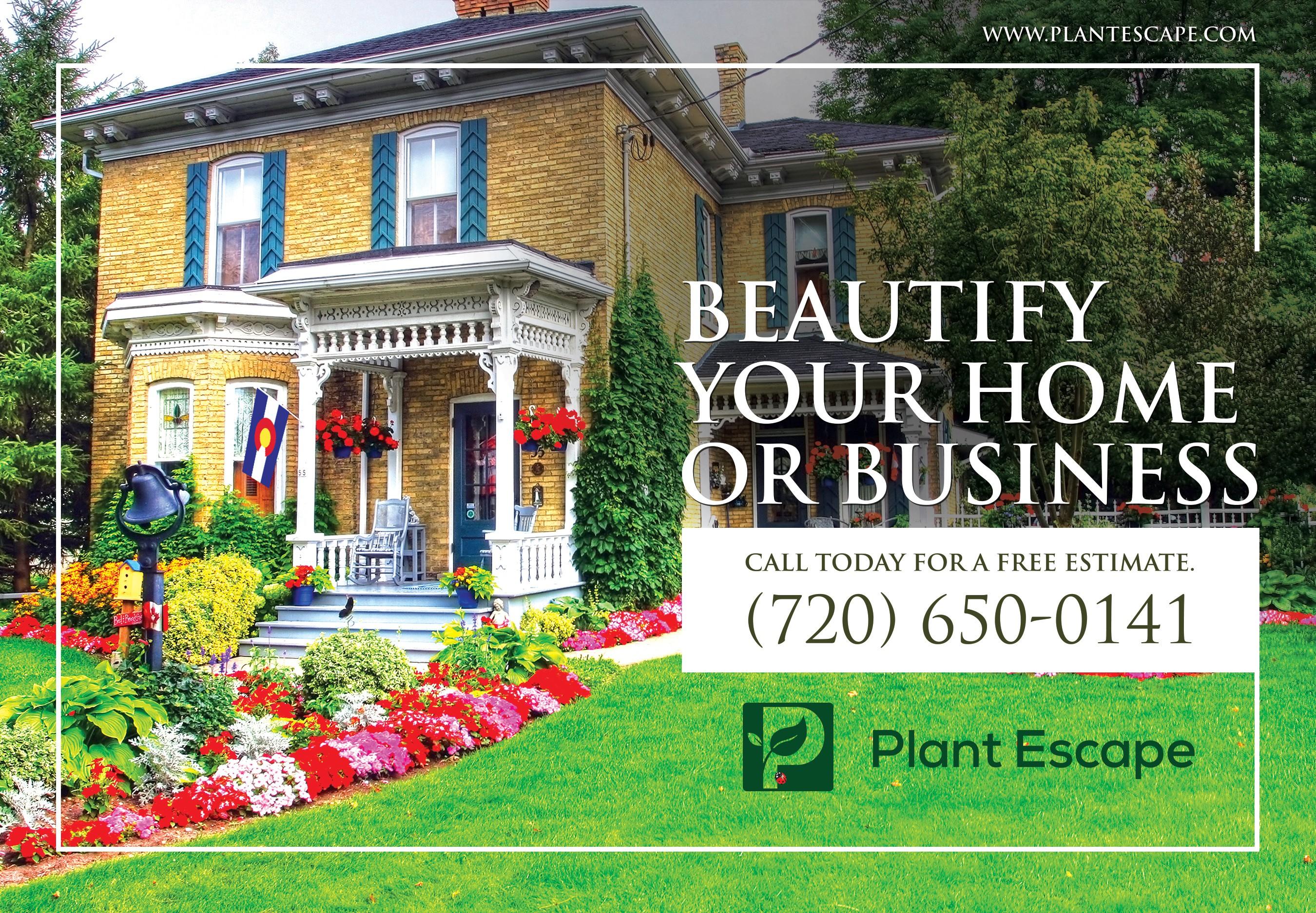 Magazine Ad for Gardening Company