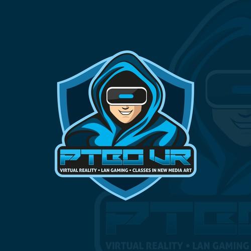 PTBO VR Logo Design