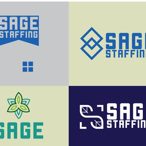 Bold Logo for  a Staffing Company