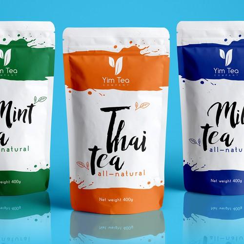 Tea pouch design