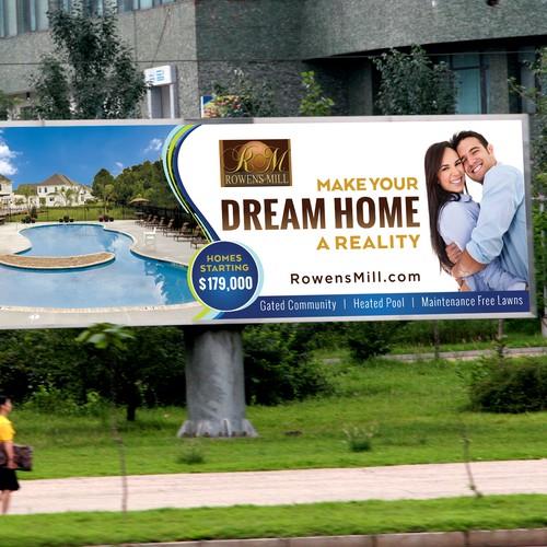 Dream Home Signage