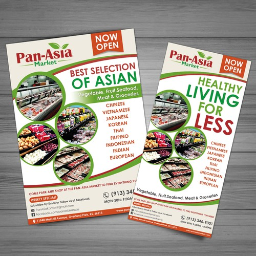 Flyer Concept for Pan Asia