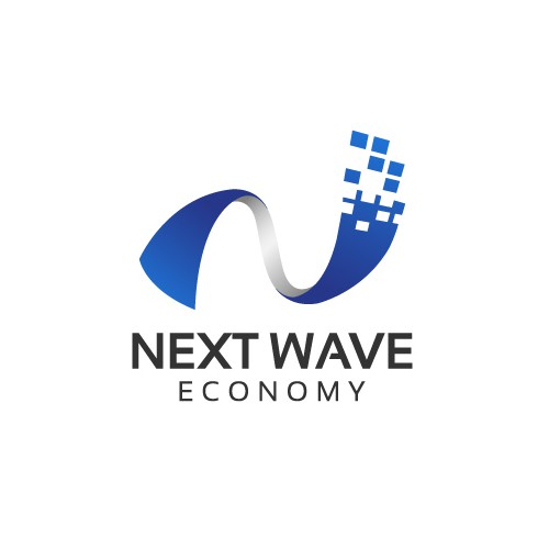 Next Wave Economy Logo Design