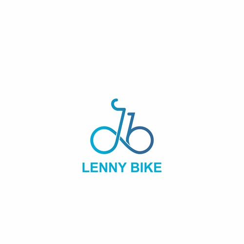 Clean & Trendy Logo for College Bike Sharing Startup