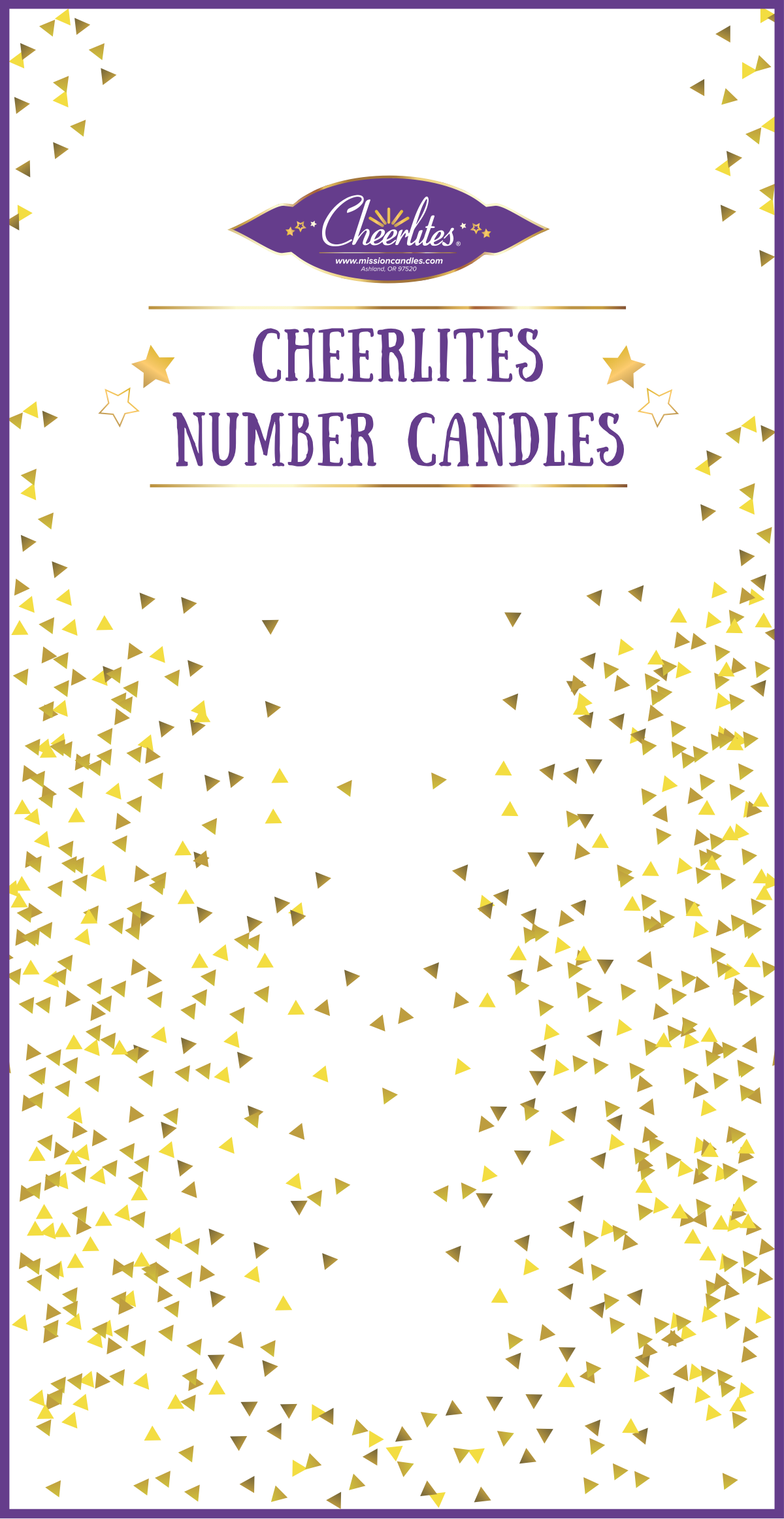 Box for number candles