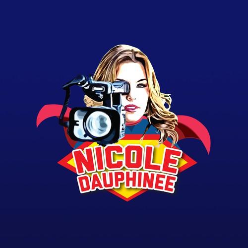 Superhero Newswoman Start Online Show