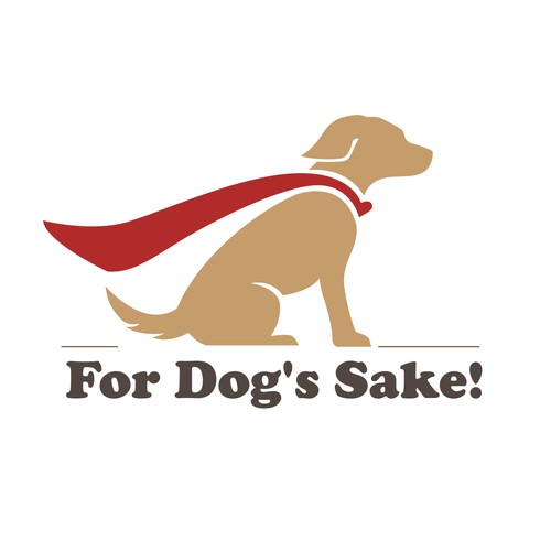 For Dog's Sake! is in need of quirky but cool canine mascot illustration.