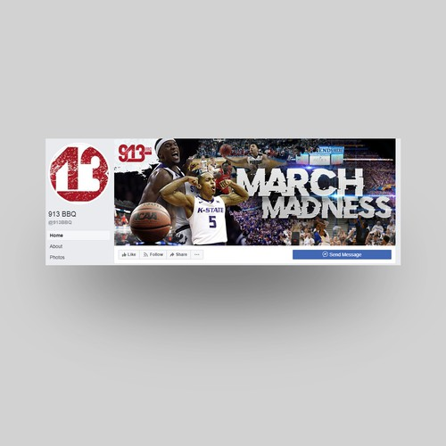 913 (March Madness FB Cover)