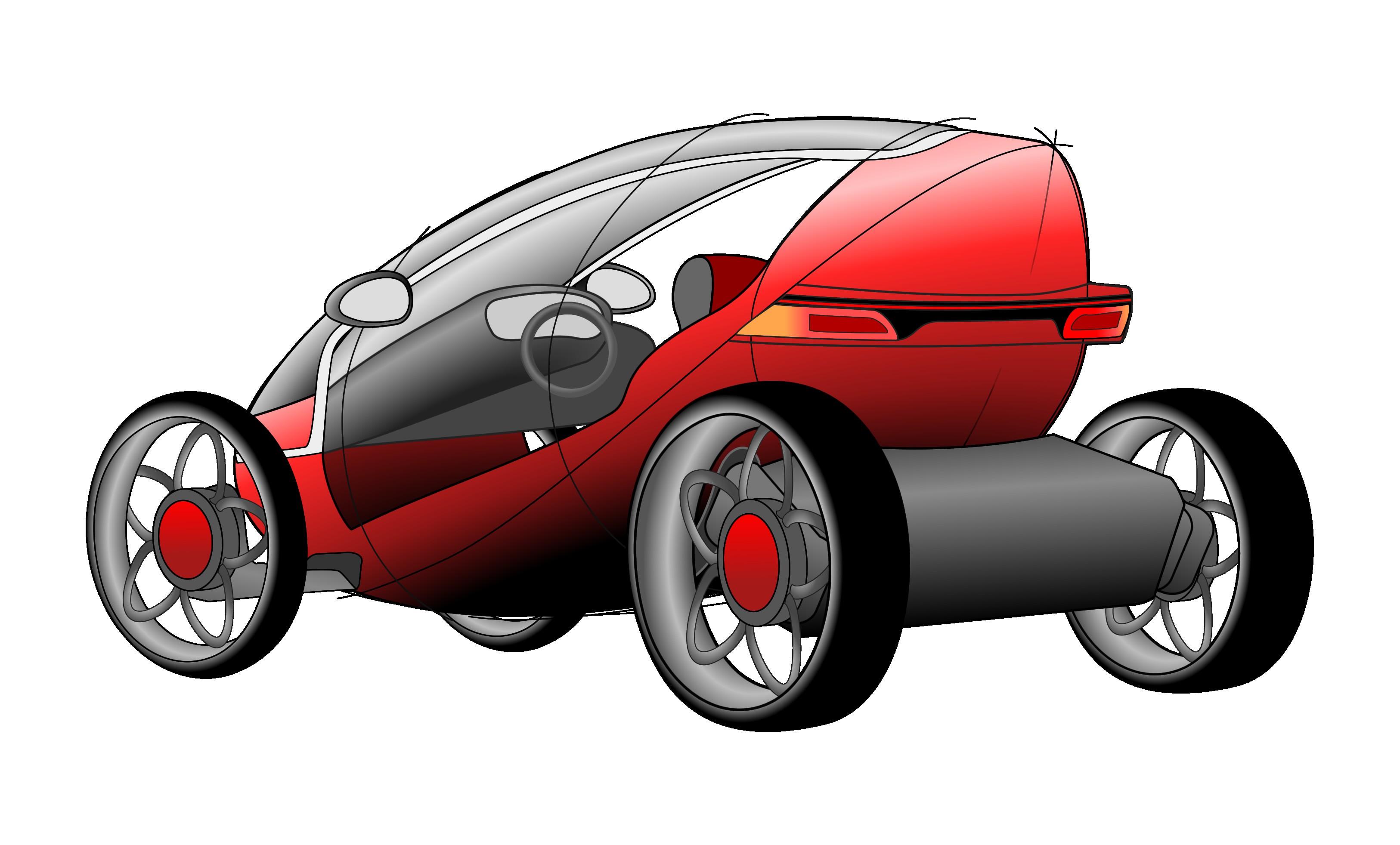 Metron  Electric City Car Design