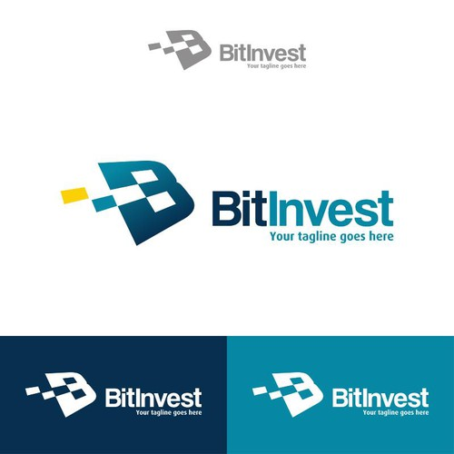 Create a perfect logo for BitInvest!