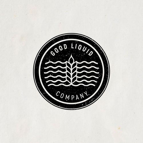Retro brewery logo