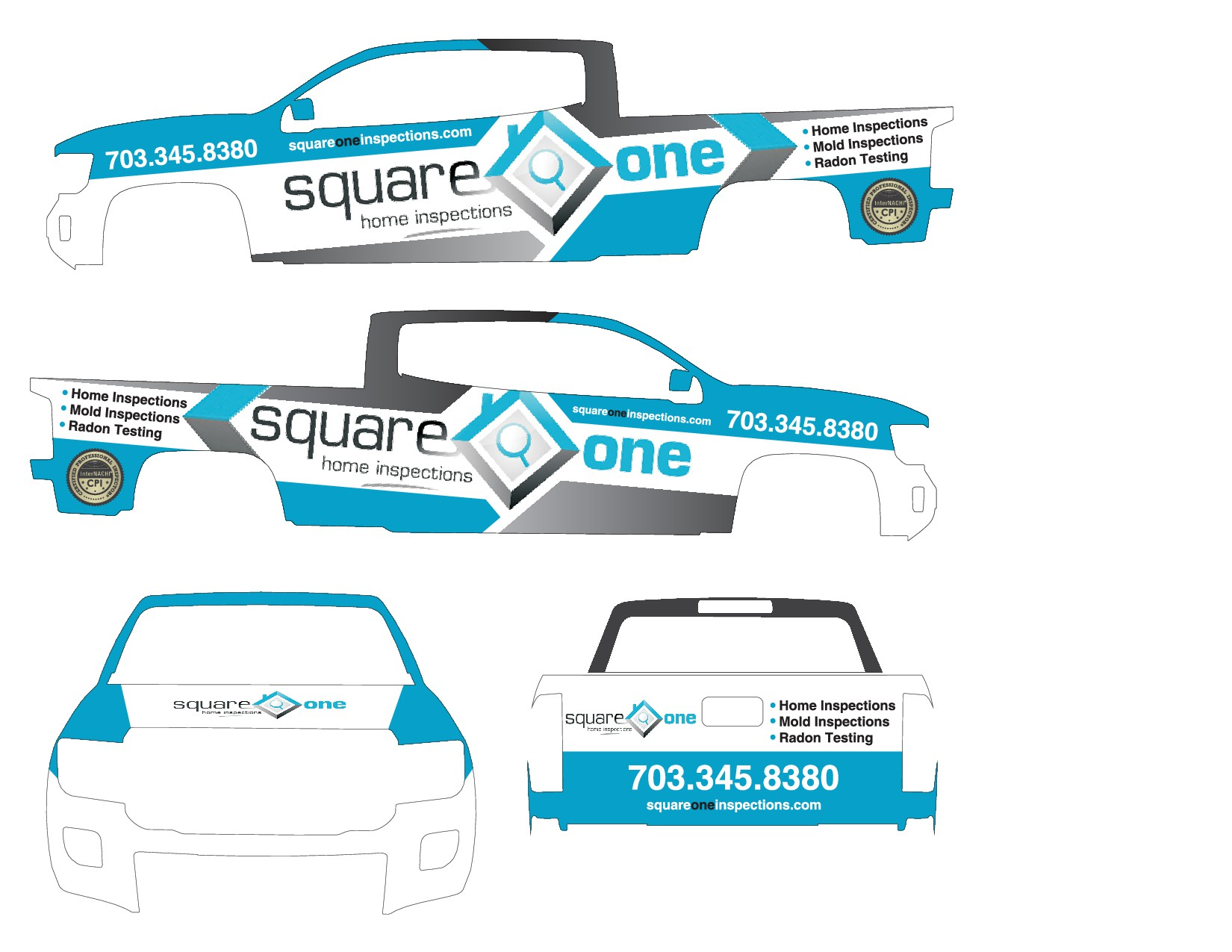 Truck Wrap Desing,  Winner will also design second wrap for van.