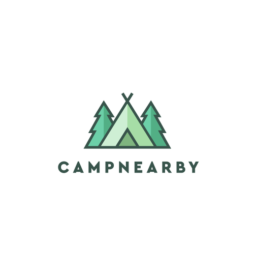 Camping Website Logo
