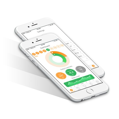 Modern Design Concept For Health App