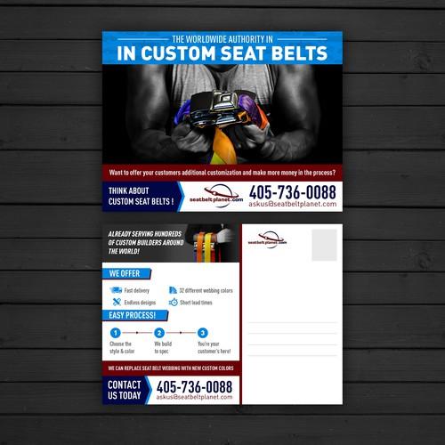 Postcard for seatbeltplanet.com