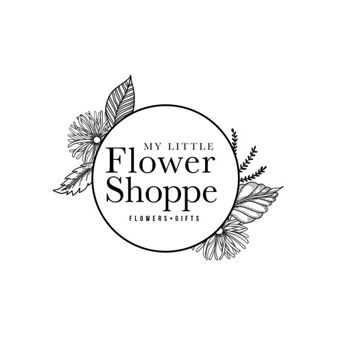 Logo for Flower Shop