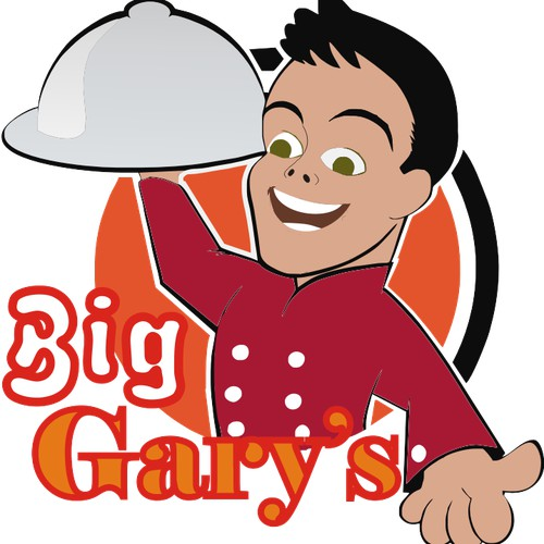 FUN and Vibrant Logo for Big Gary's !!