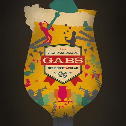 Illustration for beer festival
