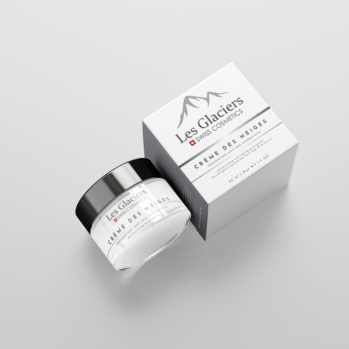 Packaging design for face cream