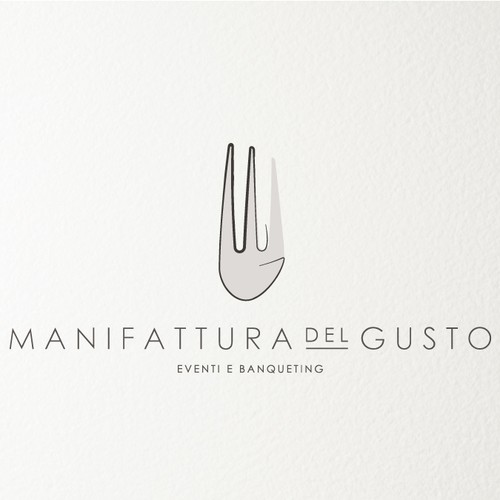 Logo for a catering company