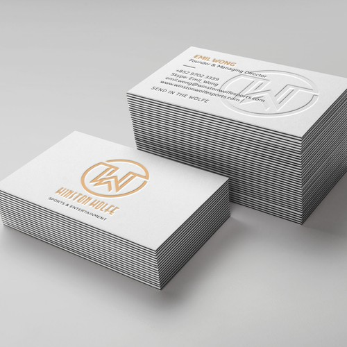 Business Card design for Winston Wolfe