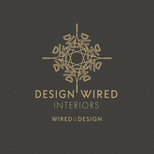 Sophisticated modern logo for an interior designer