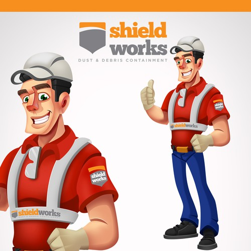 Shield Works Character Design