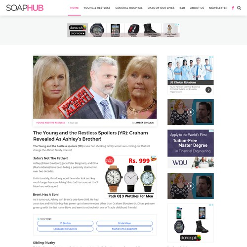 New webdesign for online blog