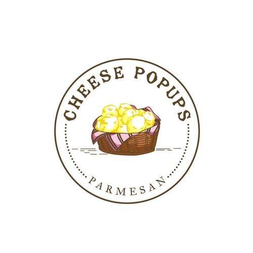 """Cheese Popups"" logo"