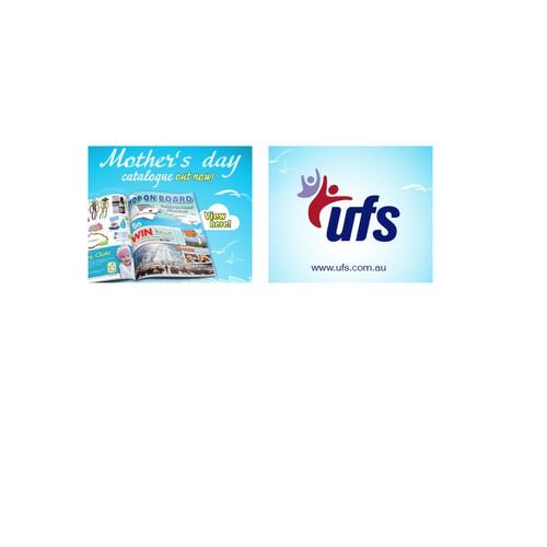 Web banner design for UFS