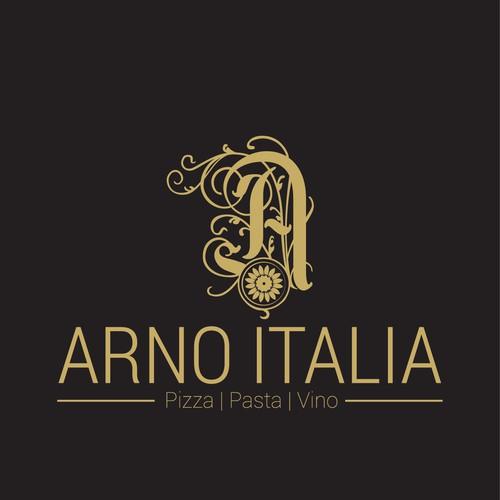 High end Italian Restaurant Logo