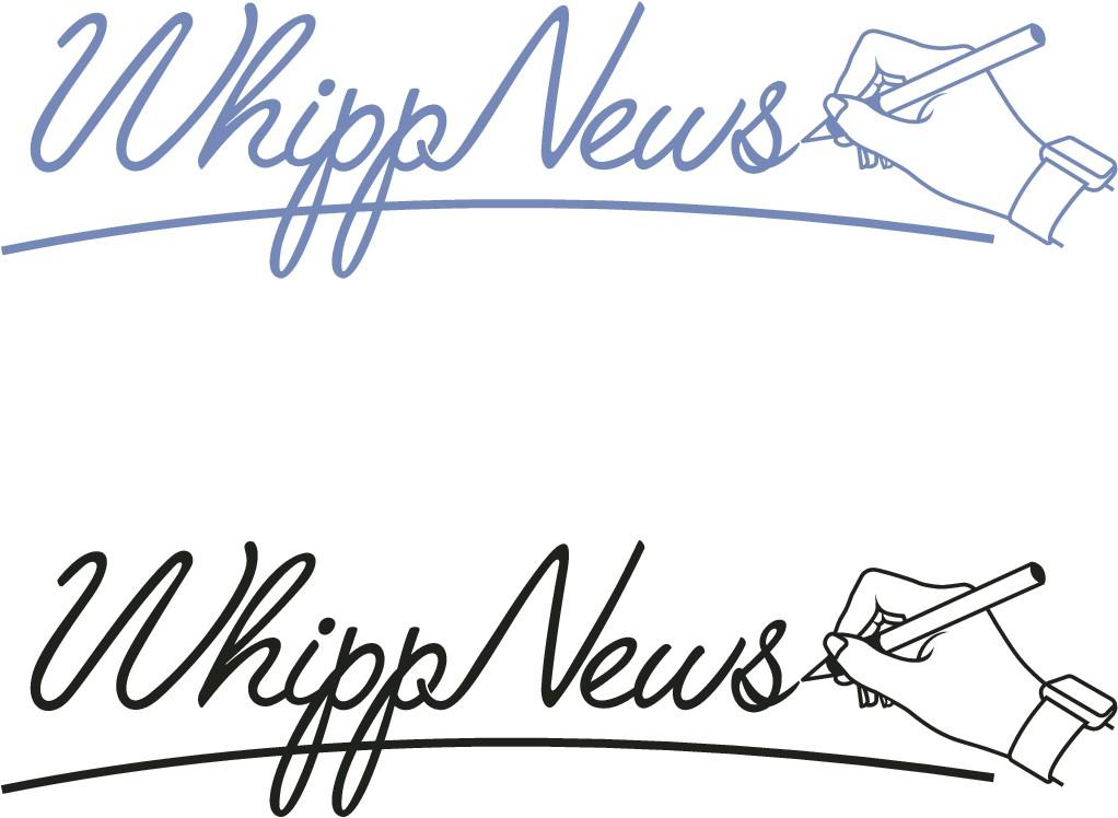 Design an innovative logo for WhippNews