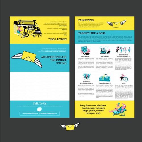 Folded Mailer