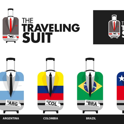 Logo Design for TravelingSuit
