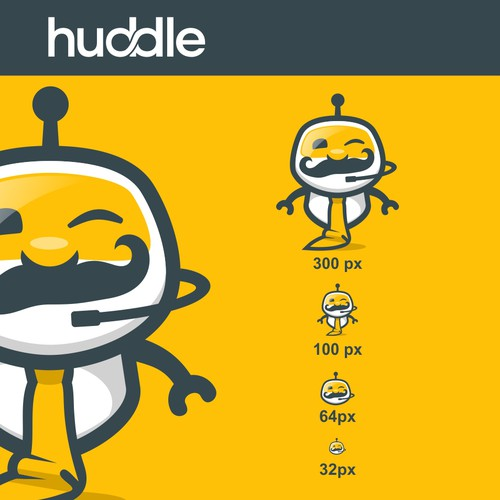Mascot for our community en e-learning software