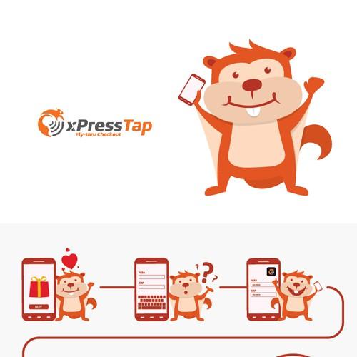 xPressTap mascot