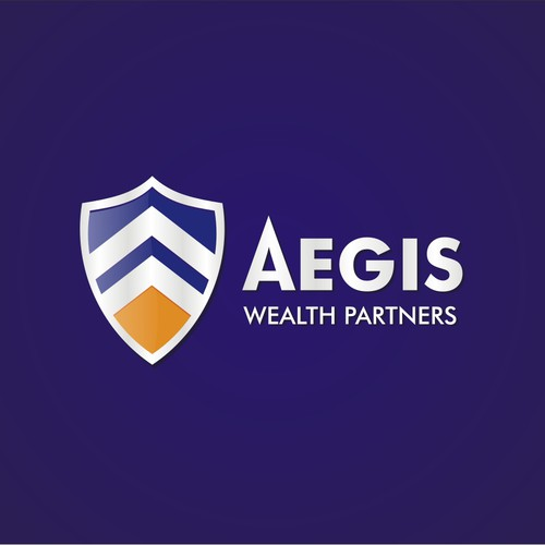 Create the logo for a new financial services firm-Aegis Wealth Partners!