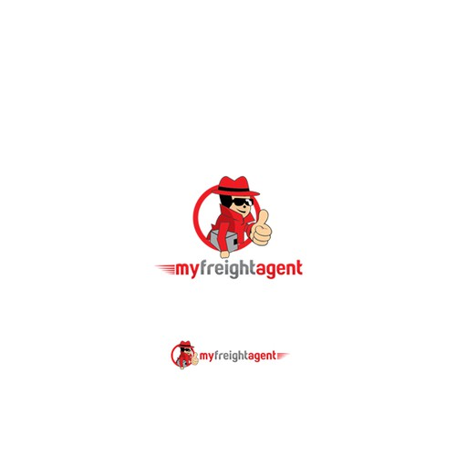 Create a branding identity for  a Fun Trustworthy Freight Agent You Can Rely On